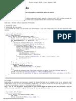 3ª Prova - Correção - FAESA - C.comp. - Algoritmo I - 2009