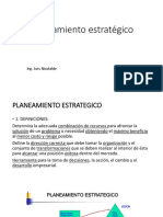 Planificacion estratégica 2018