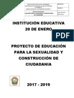 Proyecto Educacion Sexual y Construccion Ciudadania 2017