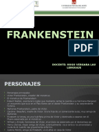 frankenstein resumen libro