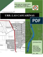 Análisis urbano Casuarina