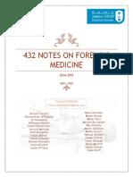 432 Notes on Forensic Medicine