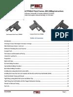 Polymer80 PF-Series Pistol Frame Kit - Instructions - April 2018
