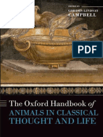 The Oxford Handbook of Animals