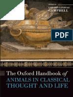 The Oxford Handbook of Animals