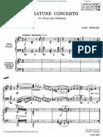 Miniature Concerto for Piano & Orchestra