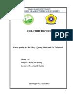 Fieldtrip Report Edited Group6
