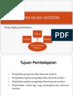 Harmoni Musik Modern