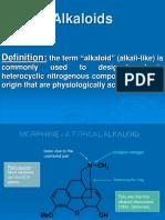 Alkaloids Introduction 2015