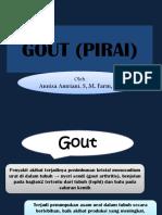 4 Patofisiologi Gout (Pirai)