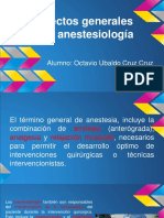 ANESTESIOLOGÍA ASPECTOS GENERALES