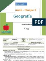 Plan 4to Grado - Bloque 5 Geografía.doc