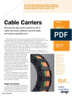 Basics of Cable Carriers