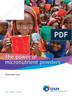 Micronutrient Powder Brochure 2016