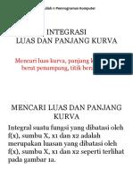 Kuliah 11-2018-Integrasi Luas Dan Panjang Kurva