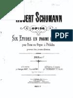 Seis estudios en forma de canon, de Robert Schumann
