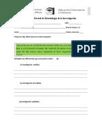 Examen Parcial de Metodologia 2