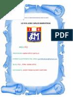 Año de La Consolidacion Del Mar de Grau i Caratula de Fcc