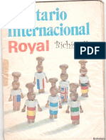 ROYAL - Recetario Internacional