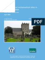 Early Medieval Ecclesistical Sites Year 1