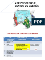 1. Mapa de Procesos e Instrumentos de Gestión