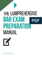 The Comprehensive Bar Exam Preparation Manual