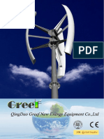 Vertical Axis Wind Turbine System Catalogue ------ GREEF NEW ENERGY (1)