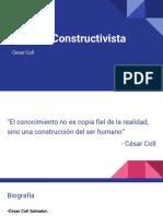 Cesar Coll - Constructivismo