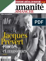 L_Humanit_- Jacques Prévert 2017