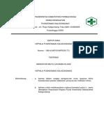 3. Sk Ttg Indikator Mutu Layanan Klinis