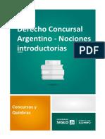 Derecho Concursal Argentino - Nociones Introductorias