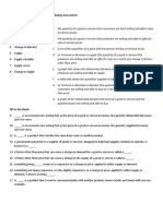 artifact 2 - demand and supply vocabulary assessment