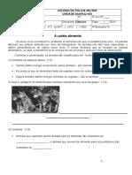 AV1 de Ciências 4ºano 4ºbim 2015 (1)