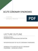 Acute CoronarySyndrome UPDATE