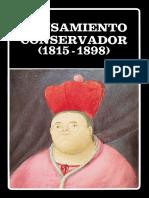 Libro El Pensamiento Conservador 1815 - 1898
