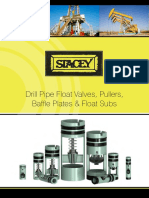 Stacey Oil Services Drill Pipe Float Valves Pullers Baffle Plates Float Subs Brochure