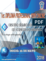 Diploma Profesional-concreto Armado 2018 100% Online.