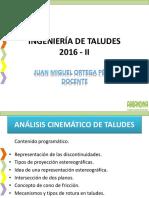 Clase 6. Analisis Cinematico de Taludes