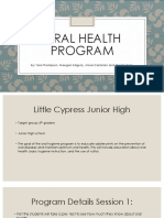 oral health program final