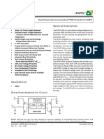 APW7159A a Dual Channel Synchronous Buck PWM Controller for SMPS