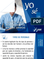 Aspectos Legales Relacionados a Las Personas Juridicas