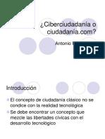 Ciberciudadania o Ciudadania
