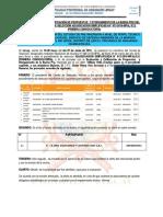 ACTA DE BUENA PRO DEL A.S. N° 13-2016