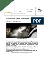 Maria Thedora Fundamental 3ano Lingua Portuguesa Aula002