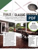 Build Diy Pergola