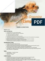 IIPTF Grooming Registration Form