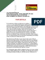 IIPTF Details 2011