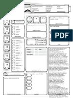 Granin Kimari CharacterSheet