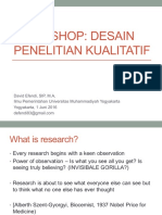Workshop Desain Penelitian Kualitatif_DavidEfendi