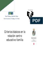Relacion Centro Familia